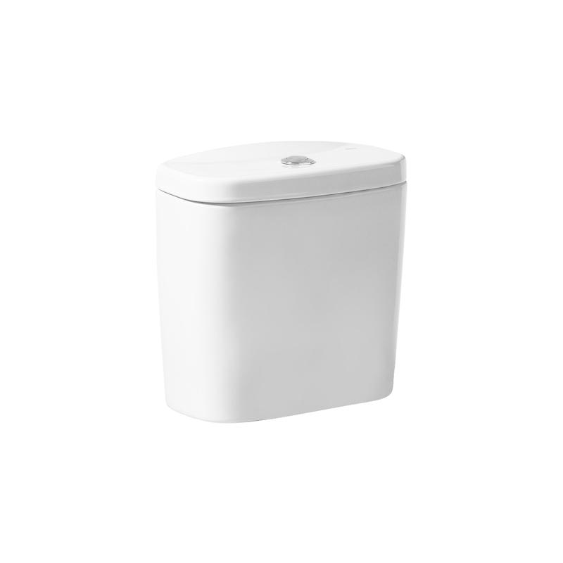 Roca Laura Push Button Cistern White