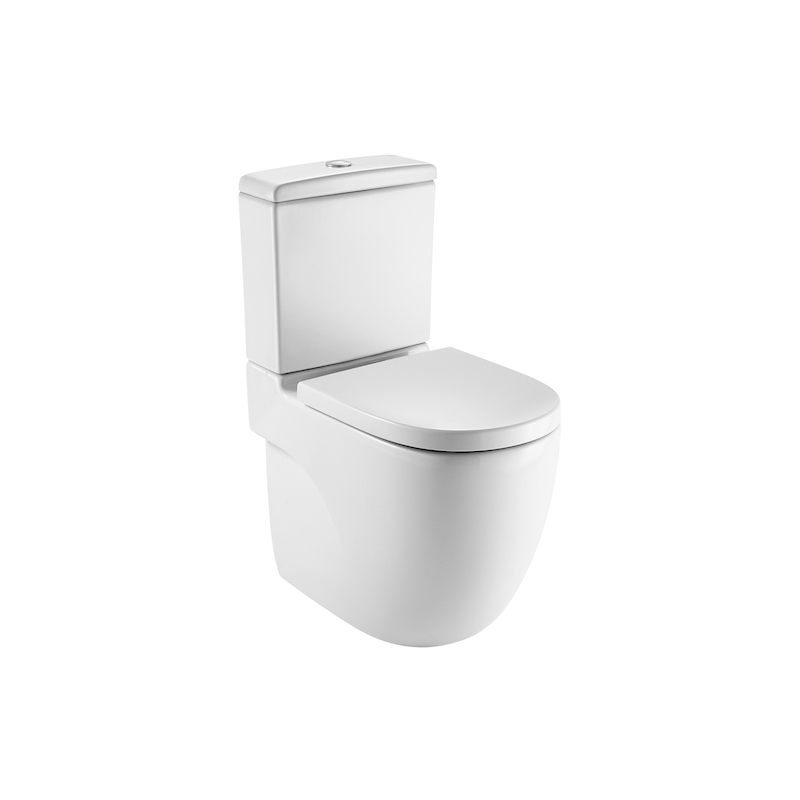 Roca Meridian-N Close Coupled Back To Wall WC Pan White