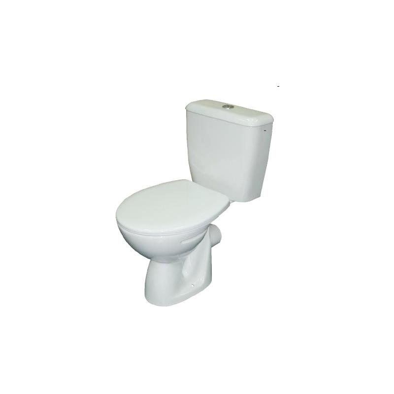 Roca Valor Close Coupled Toilet Pan White
