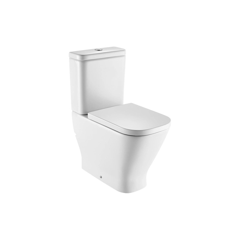Roca The Gap Fully Back To Wall Comfort Height Toilet with Standard Seat