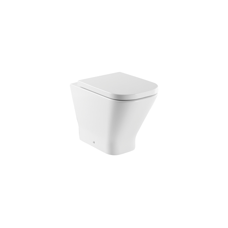 Roca The Gap Back To Wall Comfort Height WC Pan White