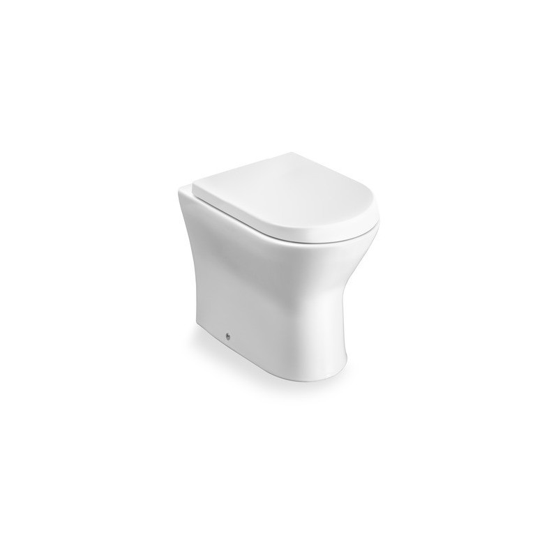 Roca Nexo Back To Wall WC Pan with Soft Close Toilet Seat