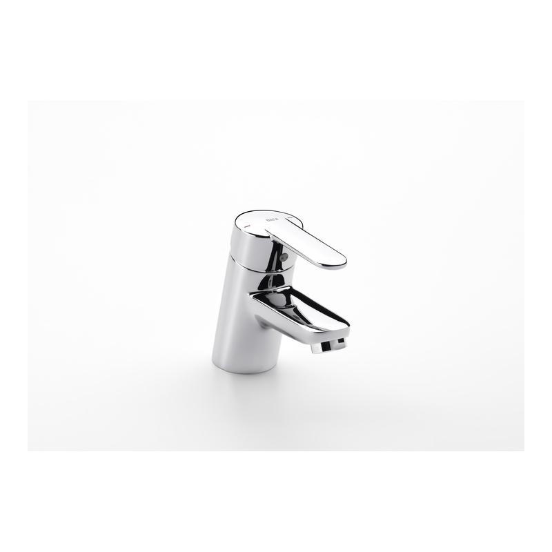 Roca V2 Basin Mixer Smooth Body Chrome