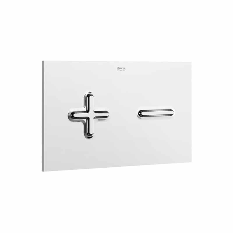 Roca PL6 Dual Flush Operating Plate Chrome