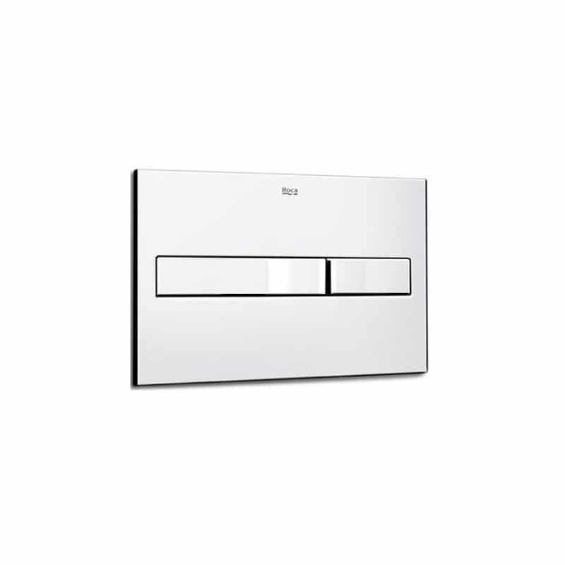 Roca PL2 Dual Flush Operating Plate Chrome