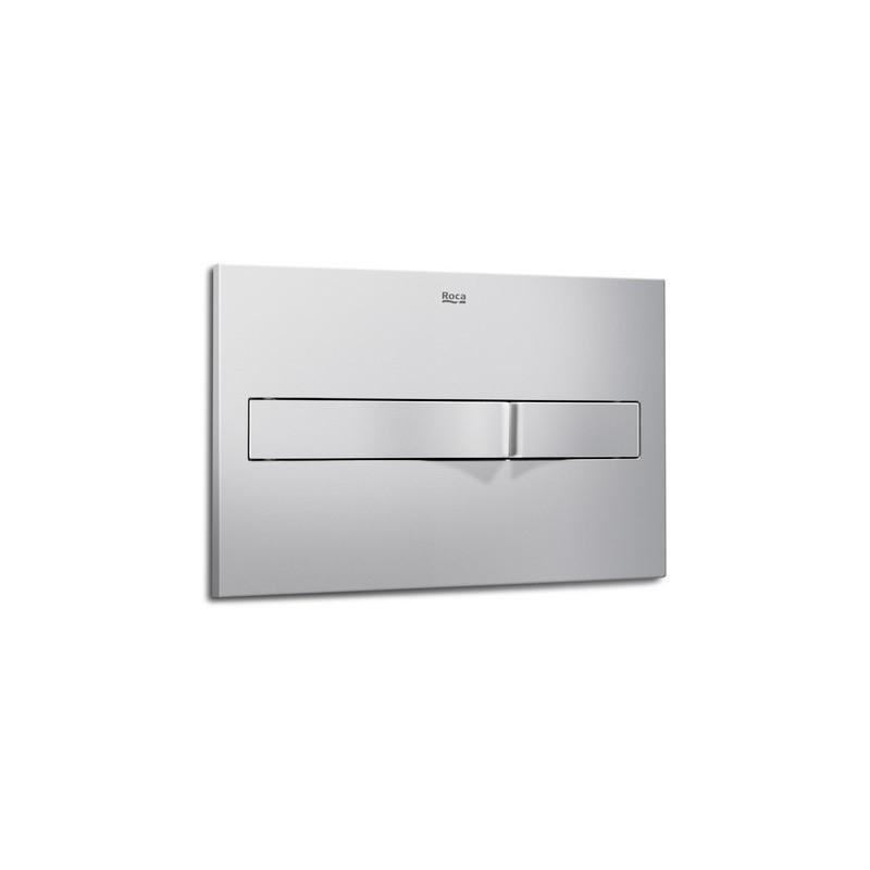 Roca PL2 Dual Flush Operating Plate Matt Chrome