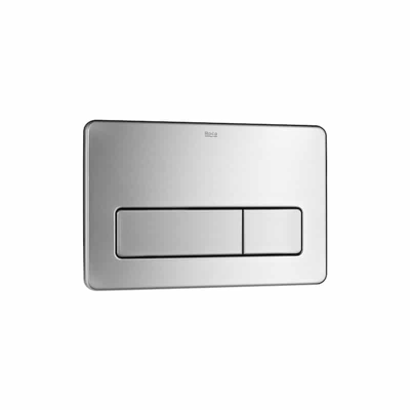 Roca PL3 Vandal-Proof Stainless Steel Dual Flush Operating Plate
