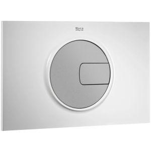 Roca PL4 Dual Flush Operating Plate Matt Chrome