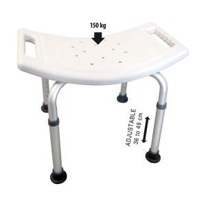 Sagittarius Adjustable Shower Seat (150kg)