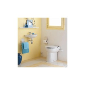 Saniflo Sanicompact Cisternless Ceramic WC with Macerator Pump