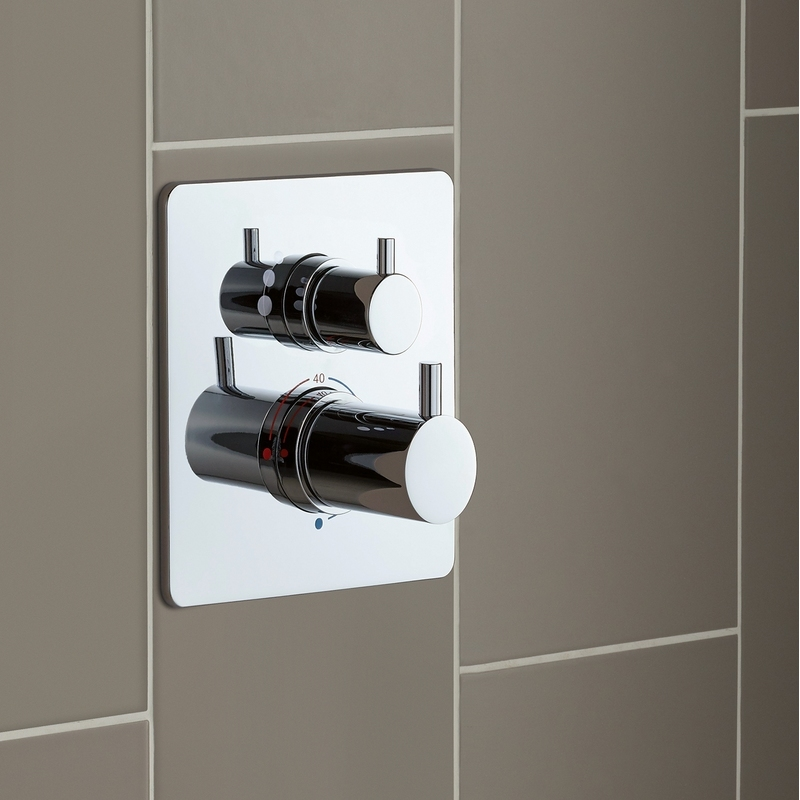 Sottini Basento Thermostatic Built-In Shower Mixer Square