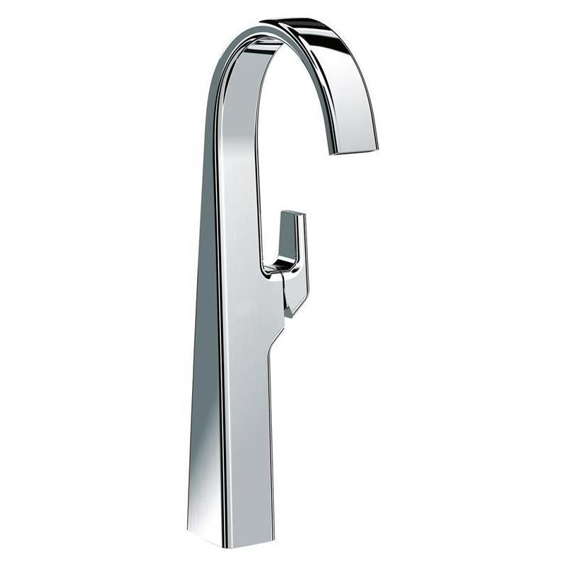 Sottini Melito Flat Spout Tall Basin Mixer with Waste