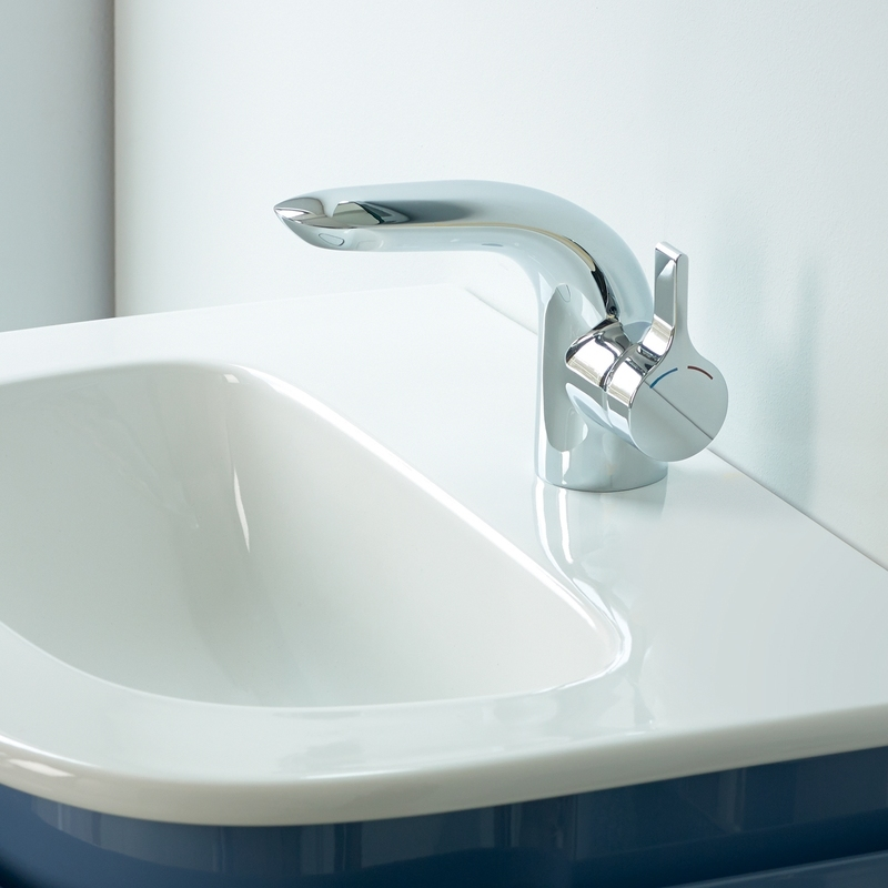 Sottini Paglia Small Basin Mixer with Pop Up Waste