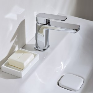 Sottini Turano Basin Mixer with Pop Up Waste