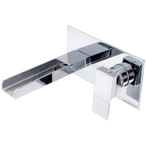 Sterling Cosmic Wall Basin Mixer Chrome