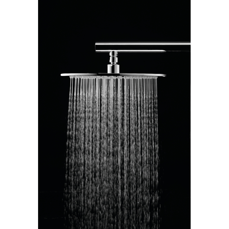 Sterling Tempest Circular Shower Head 300mm Stainless Steel