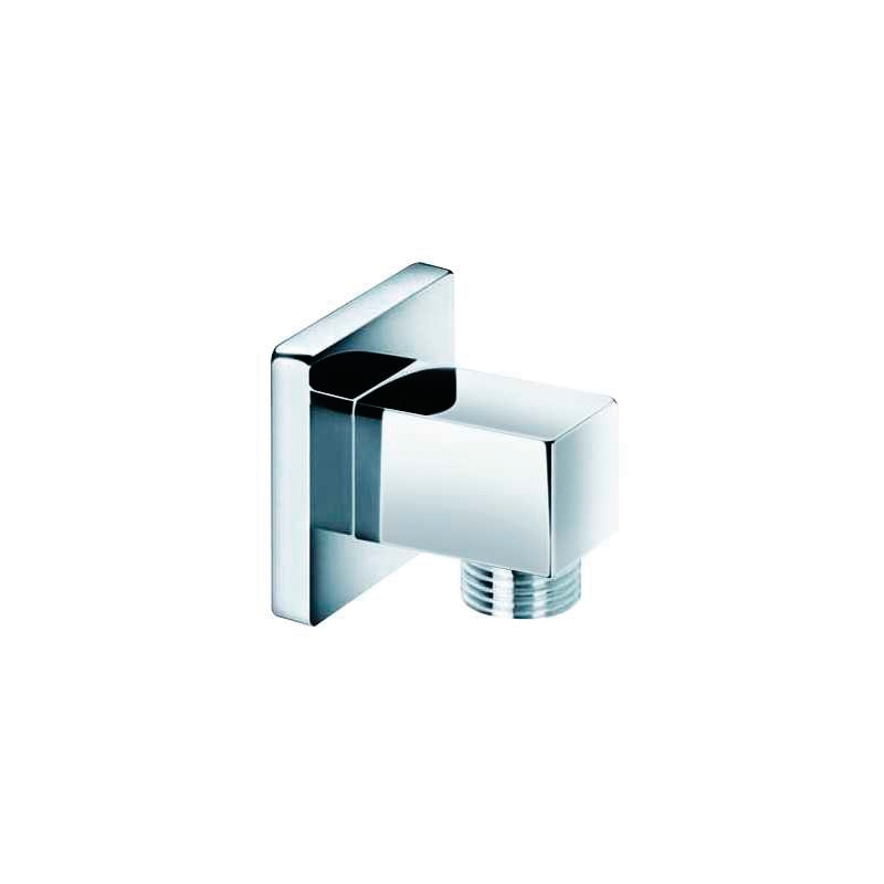 Sterling Square Wall Union Chrome