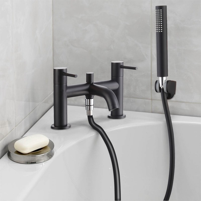 Synergy Tec Studio G Black Bath Shower Mixer