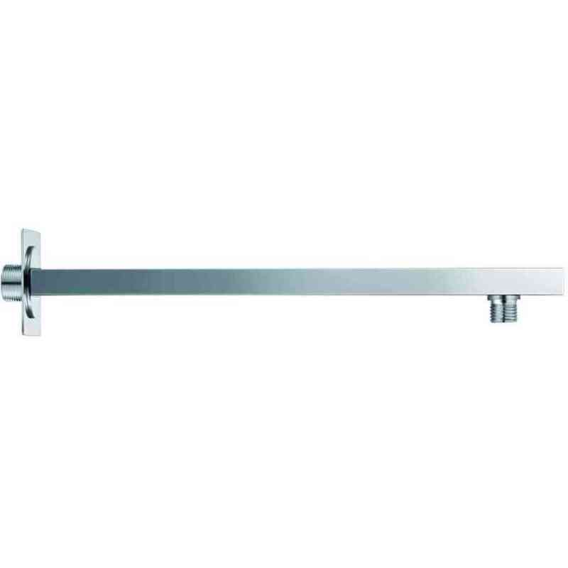 Synergy 380mm Square Shower Wall Arm Black