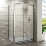 Synergy Vodas 8 Framed 1400mm Sliding Shower Door