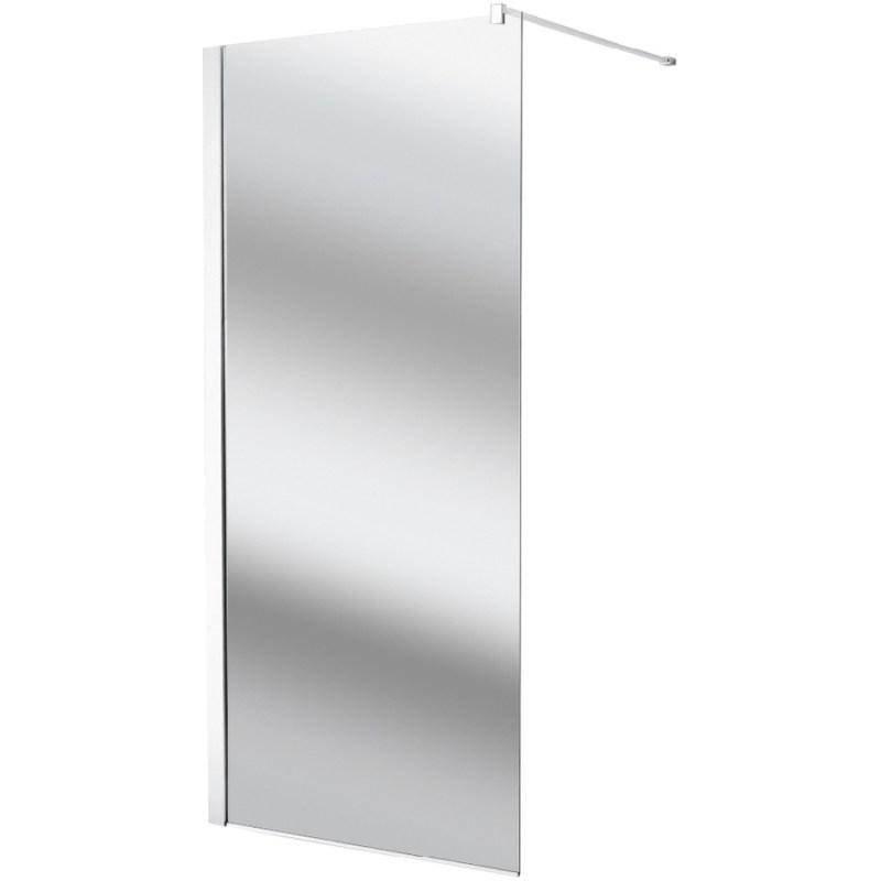 Synergy Vodas 8 1200mm Mirror Wetroom Panel