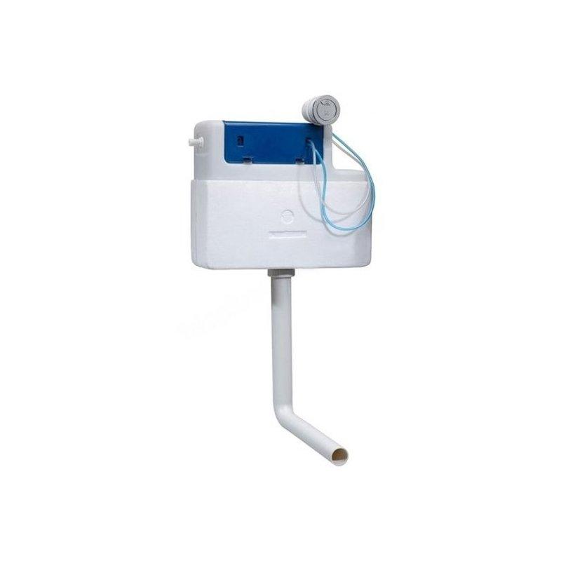 Tavistock Apex Slimline Concealed Cistern & Round Flush Button
