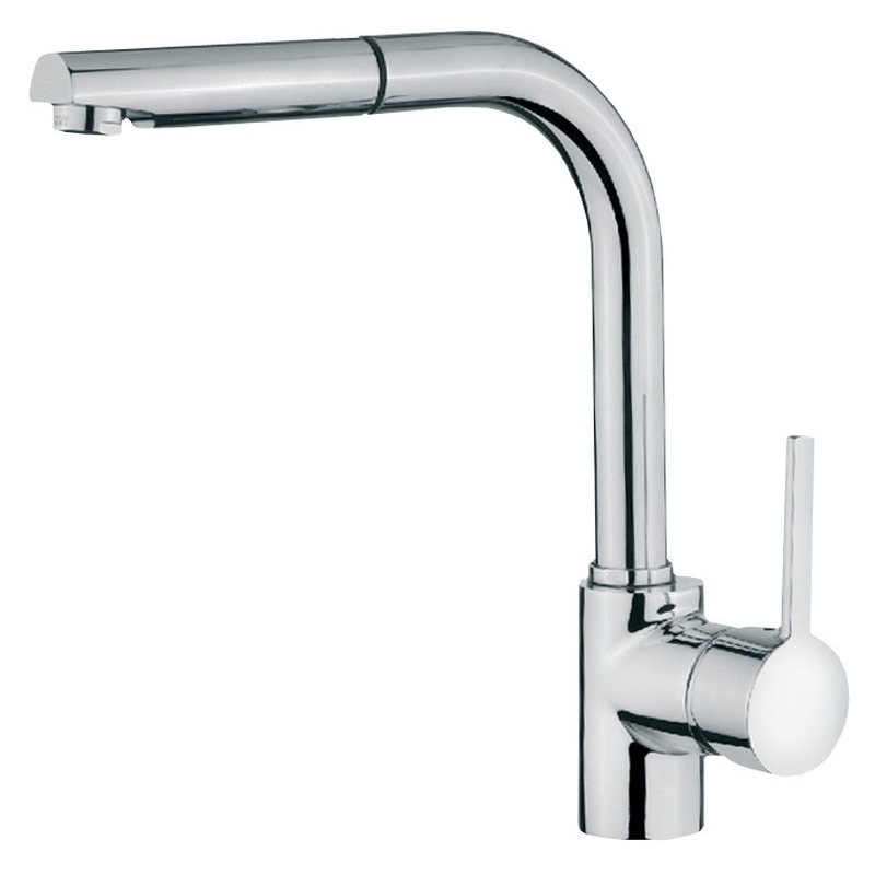Teka ARK 938 Single Lever Mixer Tap with Pull-Out Spray Chrome