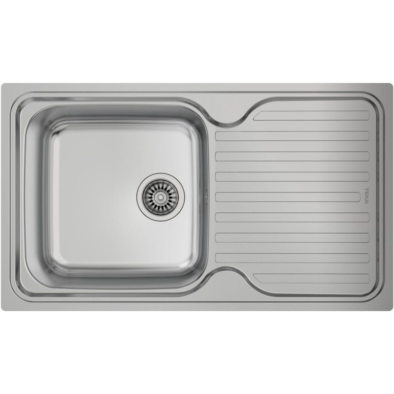 Teka Classic 1B 1D 86(40) Inset Sink Stainless Steel