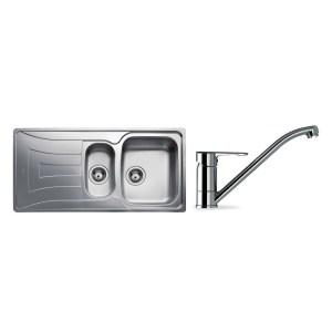 Teka Universo 1.5 Bowl Stainless Steel Sink & Single Lever Tap