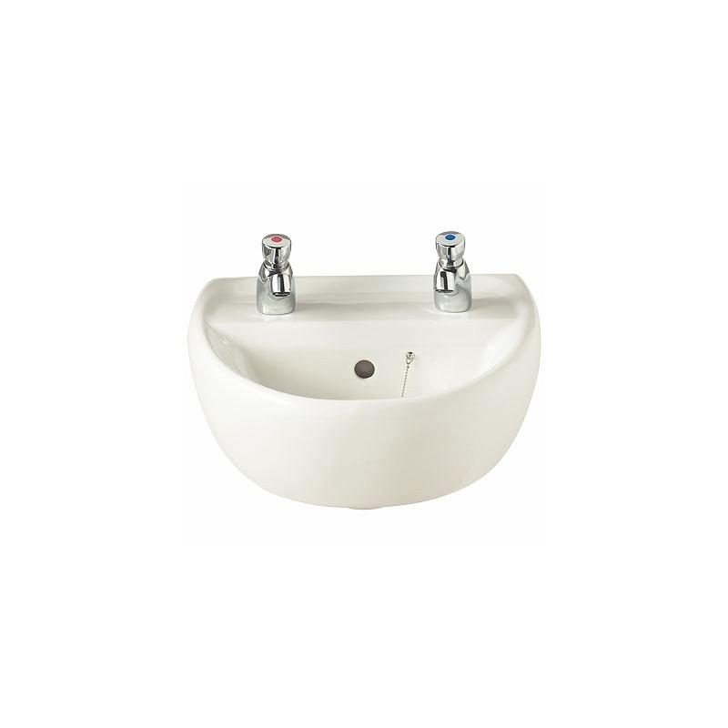 Twyford Sola Washbasin 400x345 2 Tap