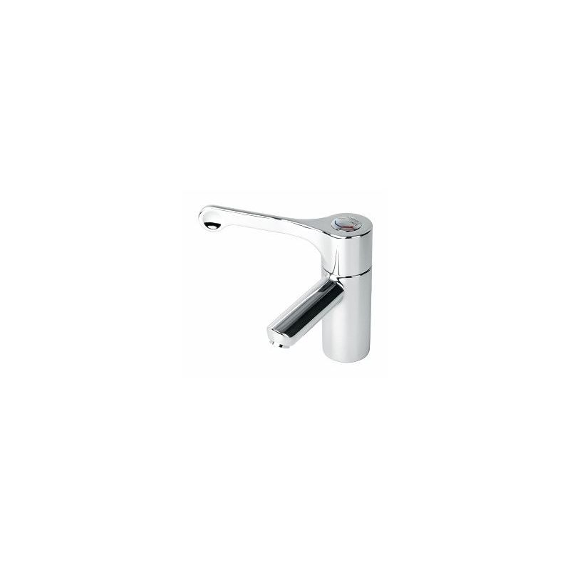 Twyford Sola Thermostatic Basin Mixer with Fixed Spout