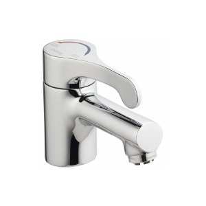 Twyford Sola Sequential Lever Action Basin Mixer Tap