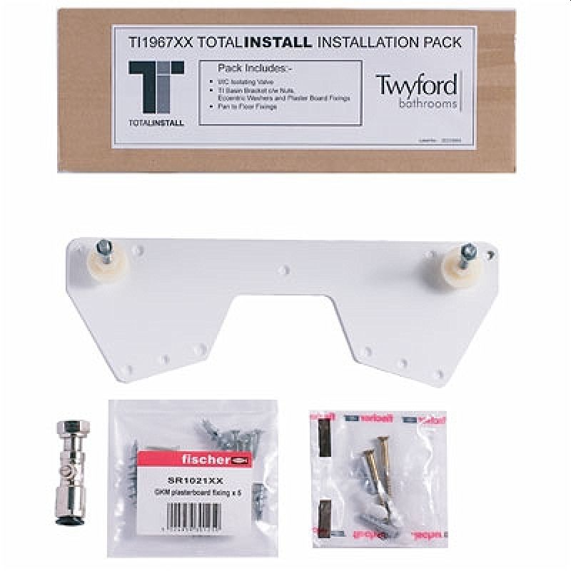 Twyford Total Install Fixing Kit Optional Upgrade Pack