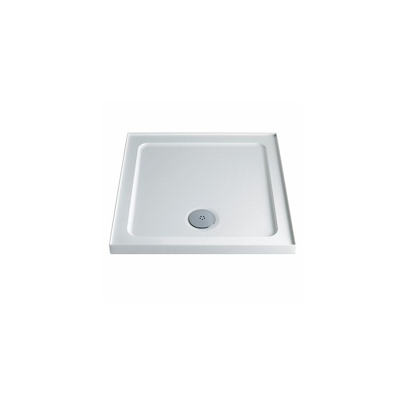 Twyford Shower Tray 760x 760 Square Upstand