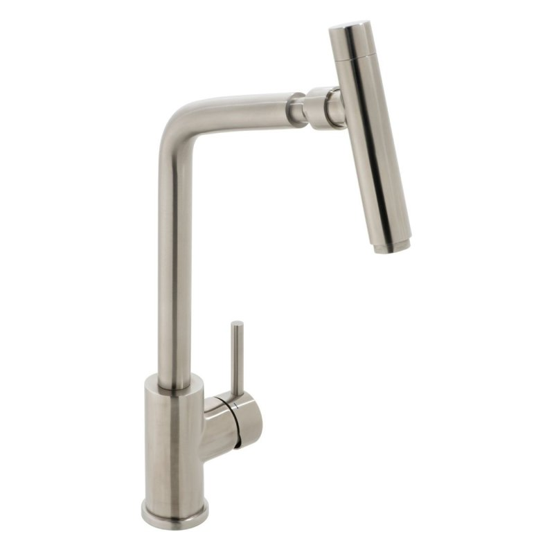 Vado Ascent Mono Sink Mixer Stainless Steel