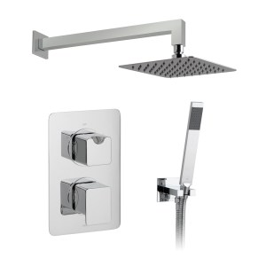 Vado Phase 2 Outlet Thermostatic Shower Set