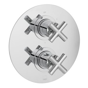 Vado Elements 3 Outlet 2 Handle Thermostatic Valve