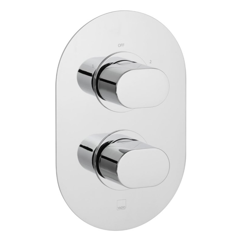 Vado Life 2 Outlet 2 Handle Thermostatic Valve