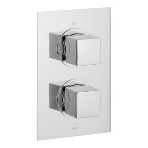 Vado Mix 2 Outlet, 2 Handle Thermostatic Shower Valve