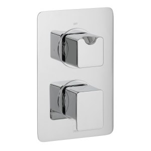 Vado Phase 1 Outlet 2 Handle Thermostatic Valve