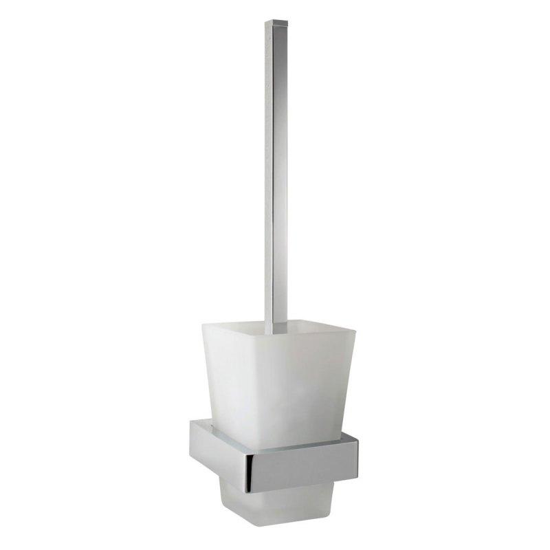 Vado Shama Toilet Brush & Frosted Glass Holder