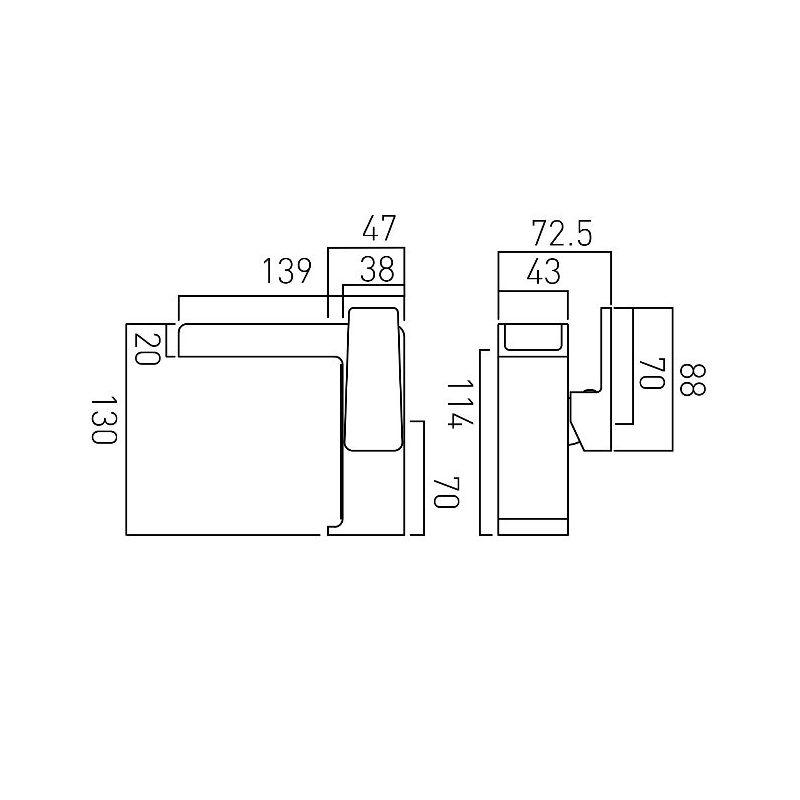 Vado Synergie Mono Basin Mixer