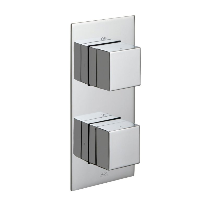 Vado Notion 1 Outlet 2 Handle Vertical Thermostatic Valve
