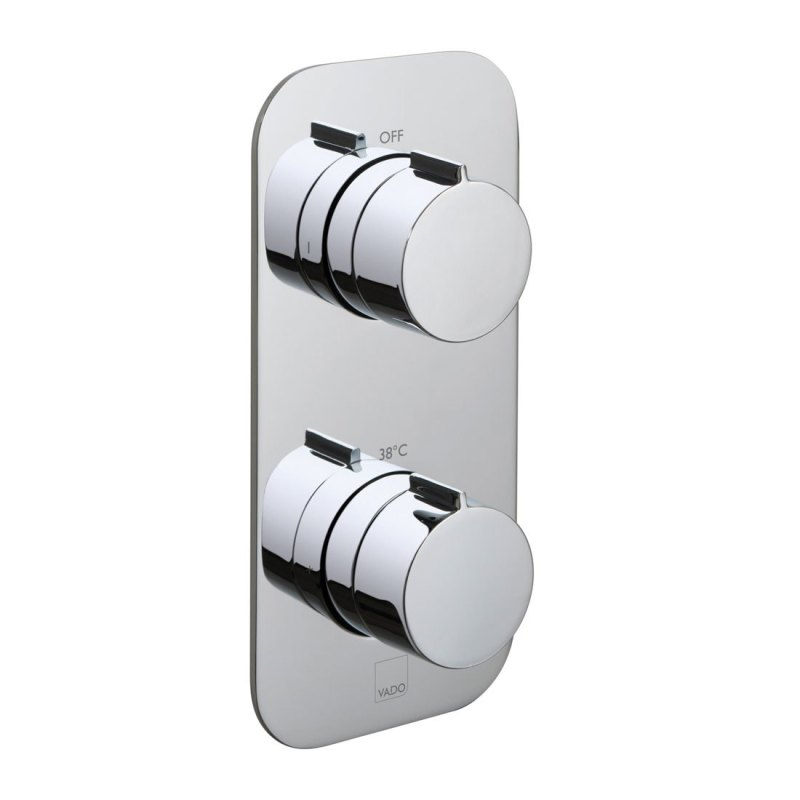 Vado Altitude 2 Outlet 2 Handle Thermostatic Valve with All-Flow