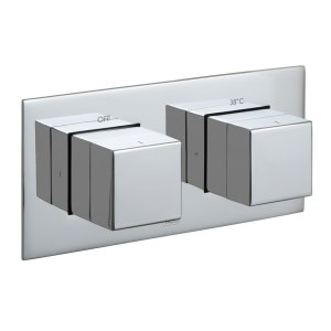 Vado Notion 2 Outlet 2 Handle Thermostatic Valve with All-Flow