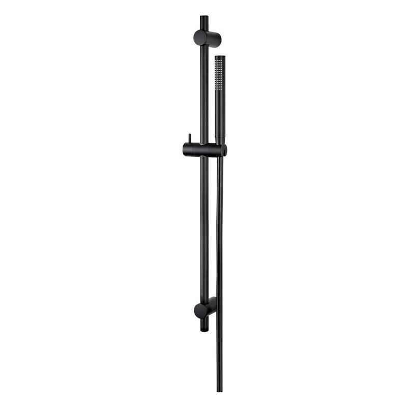 Vema Maira ABS Riser Rail with Hose & Handset Black