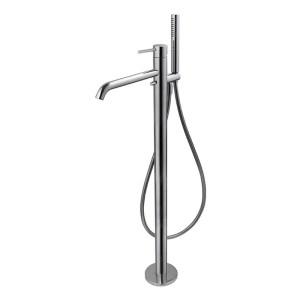 Vema Maira Floor Standing Bath Filler Chrome
