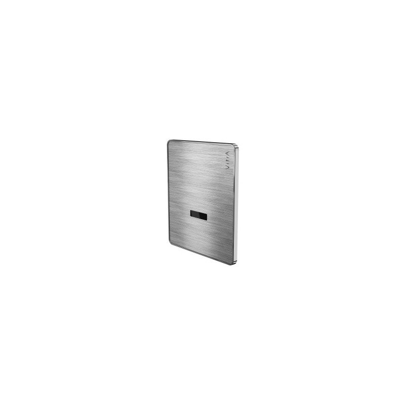 Vitra Arkitekta Infrared Urinal Flusher Matt Chrome, Battery
