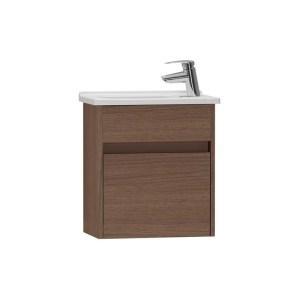 Vitra S50 50cm Compact Washbasin Unit with 5345 Basin Oak