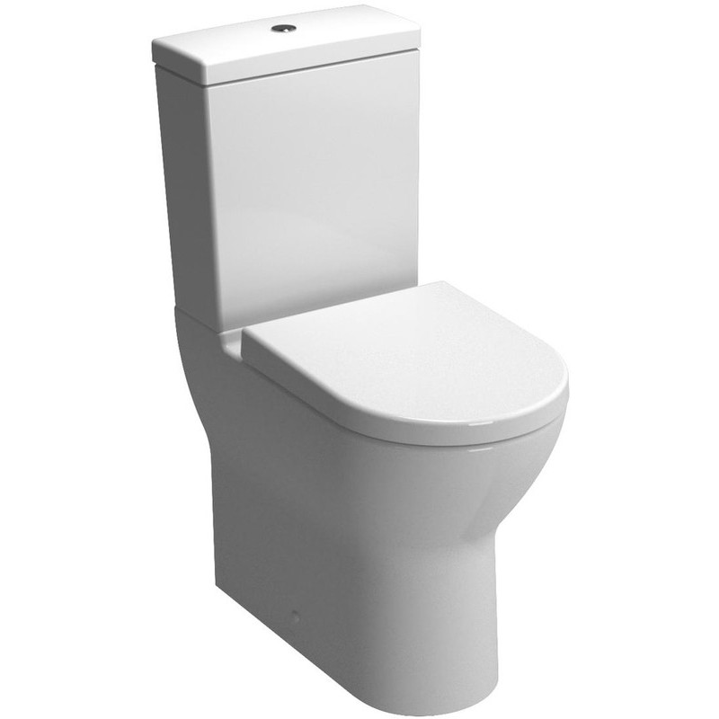 Vitra S50 Comfort Height Fully Back To Wall Pan